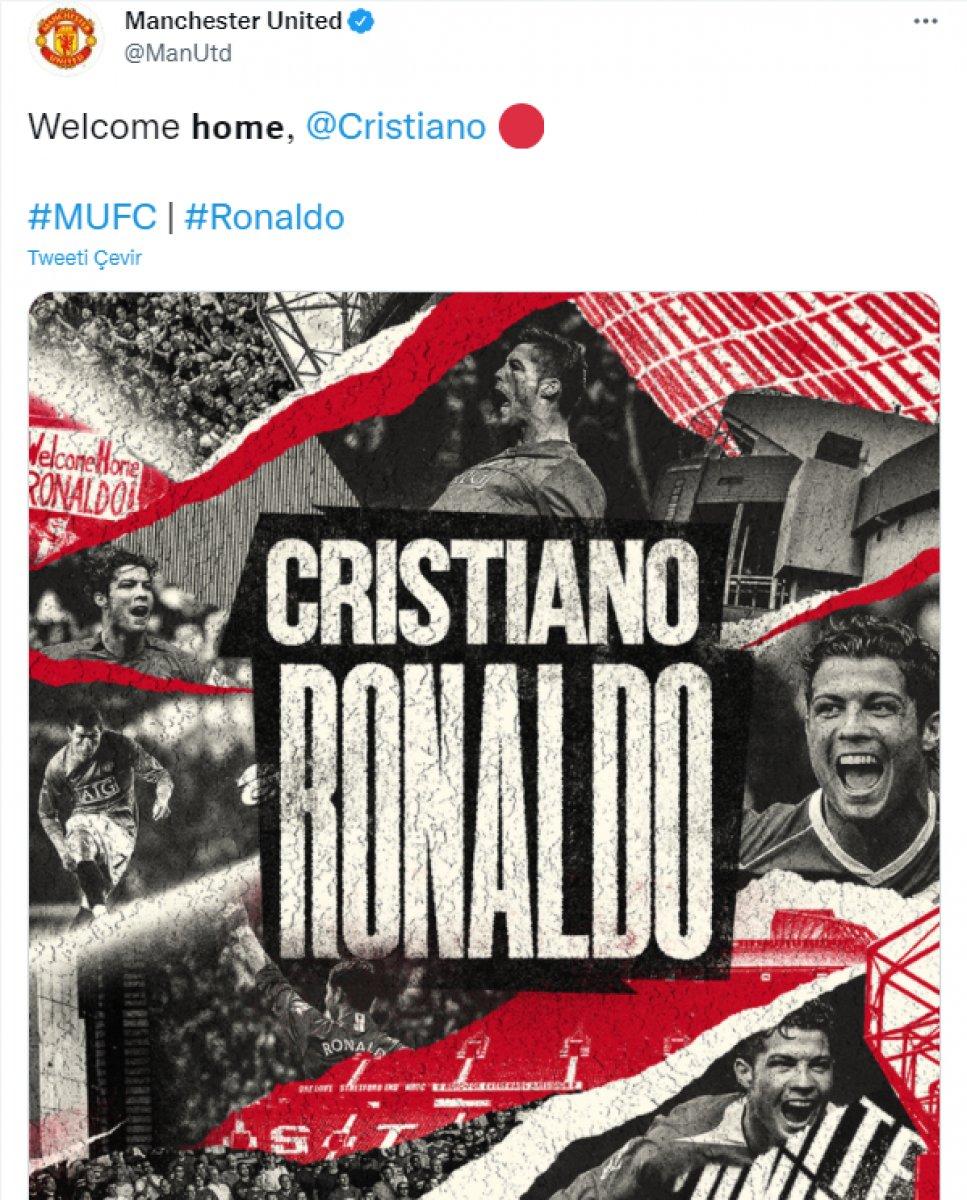 Cristiano Ronaldo resmen Manchester United da #2