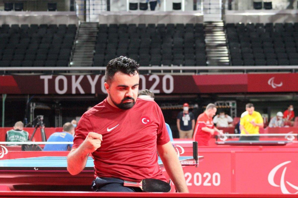 Nesim Turan paralimpik oyunlarında bronz madalya kazandı #1