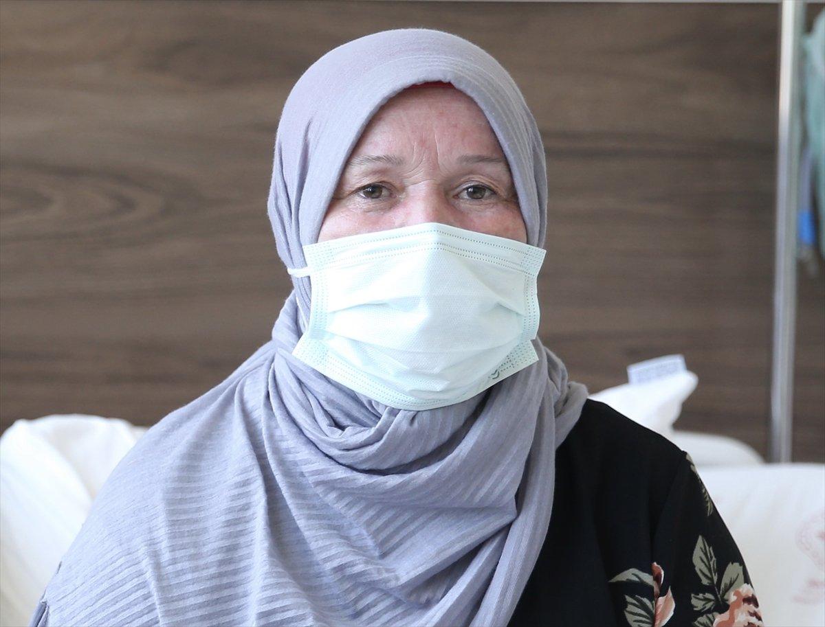 Giresun da aşı olacağı gün koronavirüs teşhisi konulan kadın: Pişmanım #3