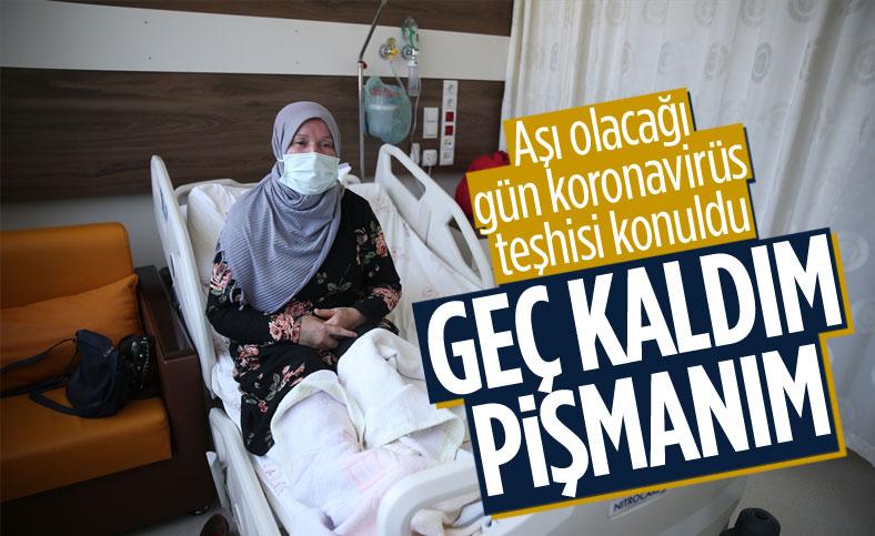 Giresun'da aşı olacağı gün koronavirüs teşhisi konulan kadın: Pişmanım