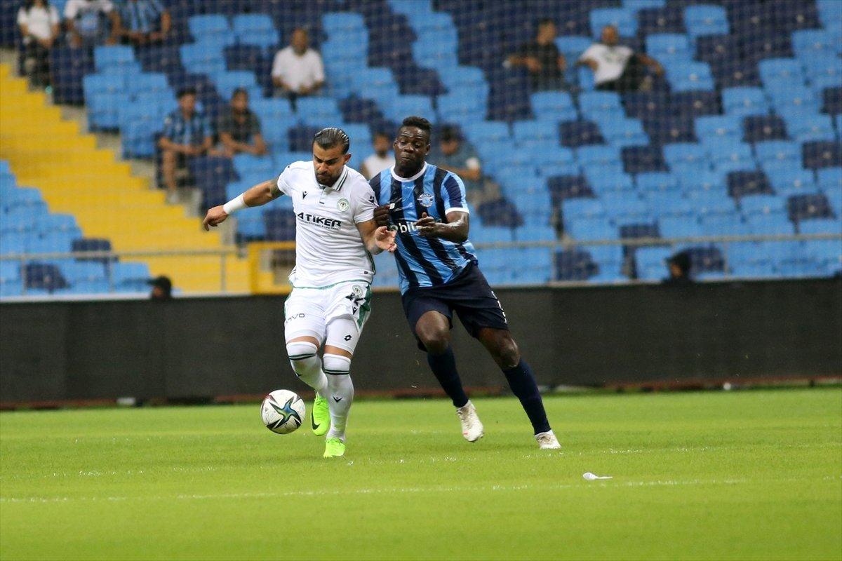 Adana Demirspor ile Konyaspor yenişemedi #1