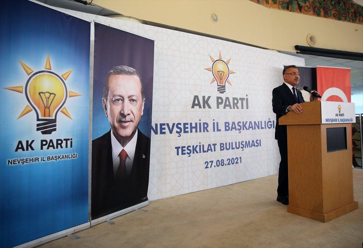 Fuat Oktay: Türkiye terörizm ile daima mücadele etmiştir #3