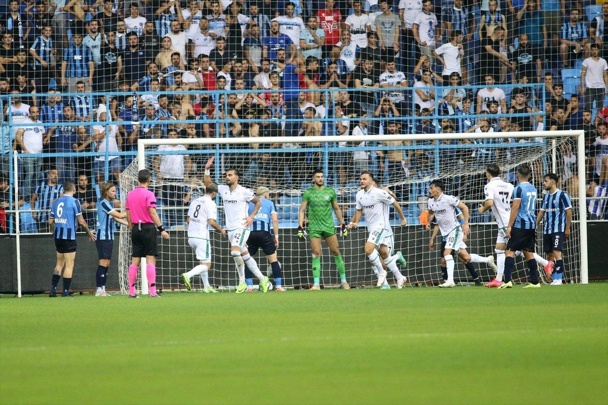 Adana Demirspor ile Konyaspor yenişemedi #3