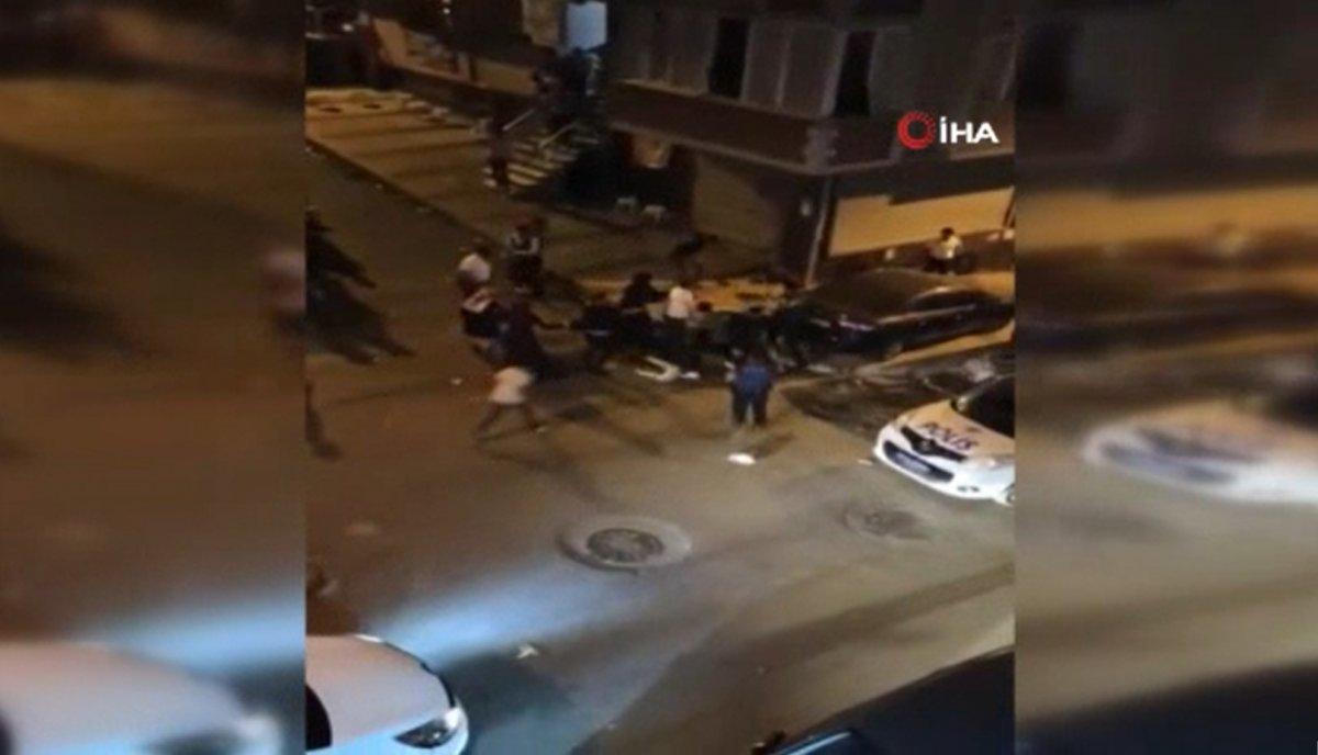 Sultangazi de yüksek sesle eğlence yapan şahıslar polise saldırdı #1
