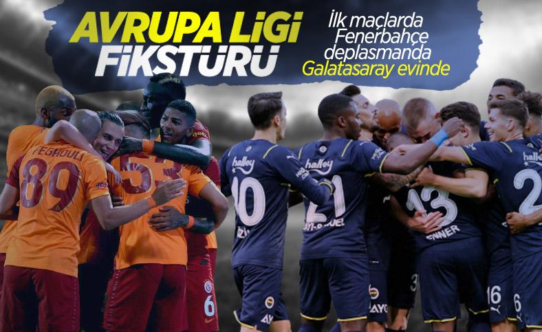 Galatasaray'ın ve Fenerbahçe'nin UEFA Avrupa Ligi fikstürü