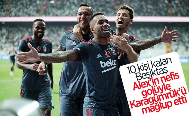 Beşiktaş, Fatih Karagümrük'ü mağlup etti