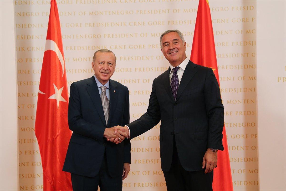 Cumhurbaşkanı Erdoğan ın Karadağ daki basın toplantısı konuşması #2