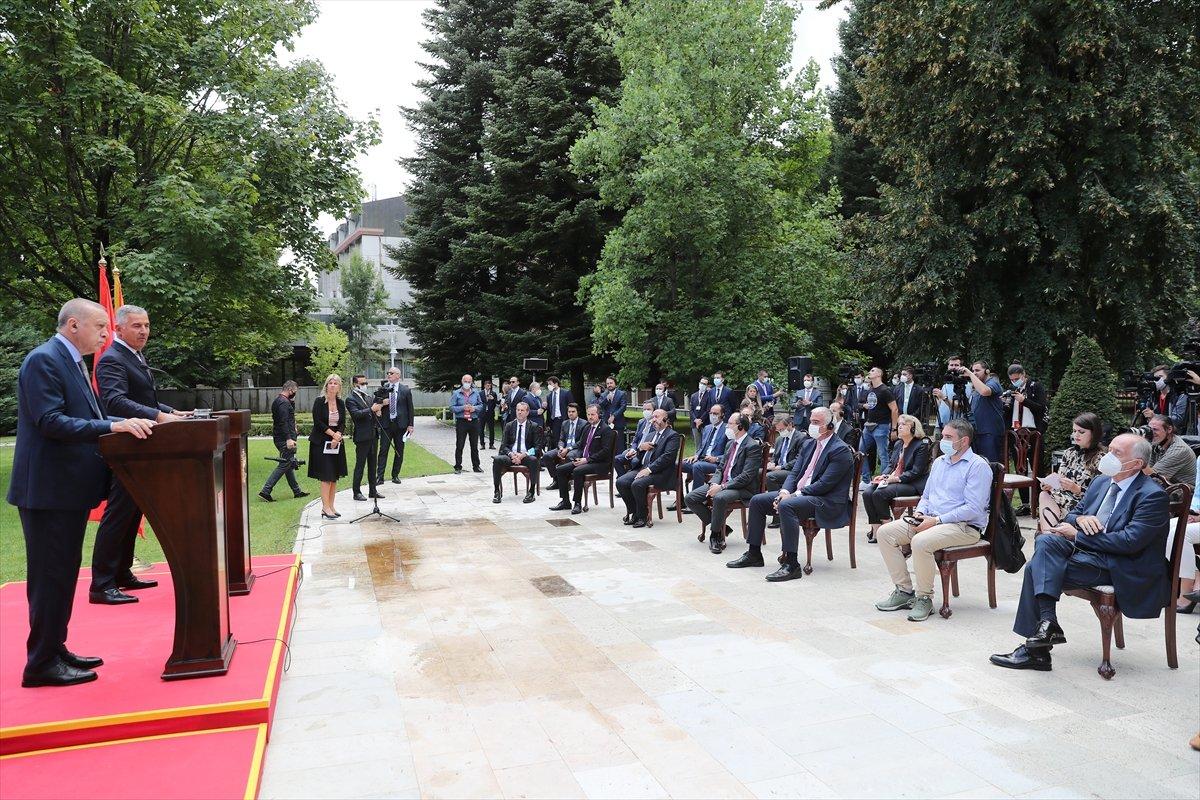 Cumhurbaşkanı Erdoğan ın Karadağ daki basın toplantısı konuşması #4