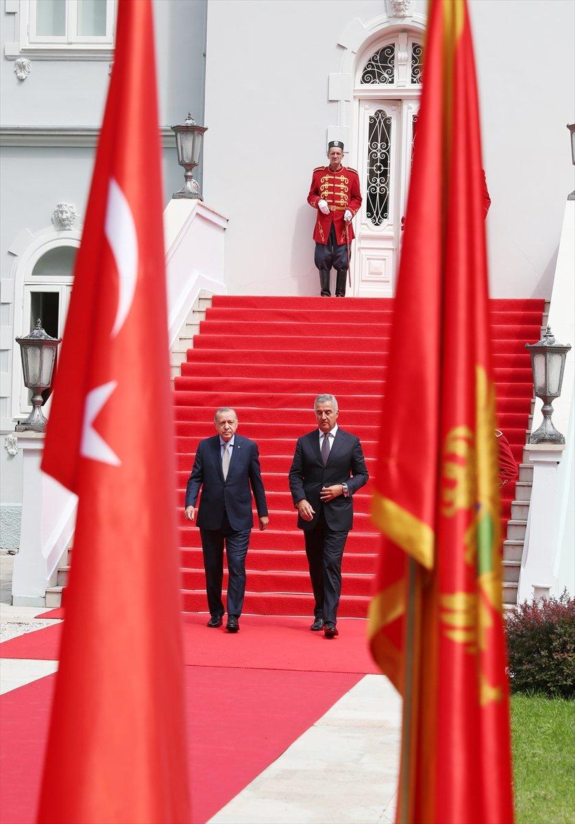 Cumhurbaşkanı Erdoğan ın Karadağ daki basın toplantısı konuşması #7