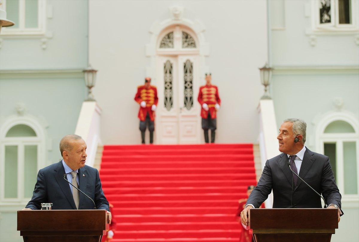 Cumhurbaşkanı Erdoğan ın Karadağ daki basın toplantısı konuşması #5