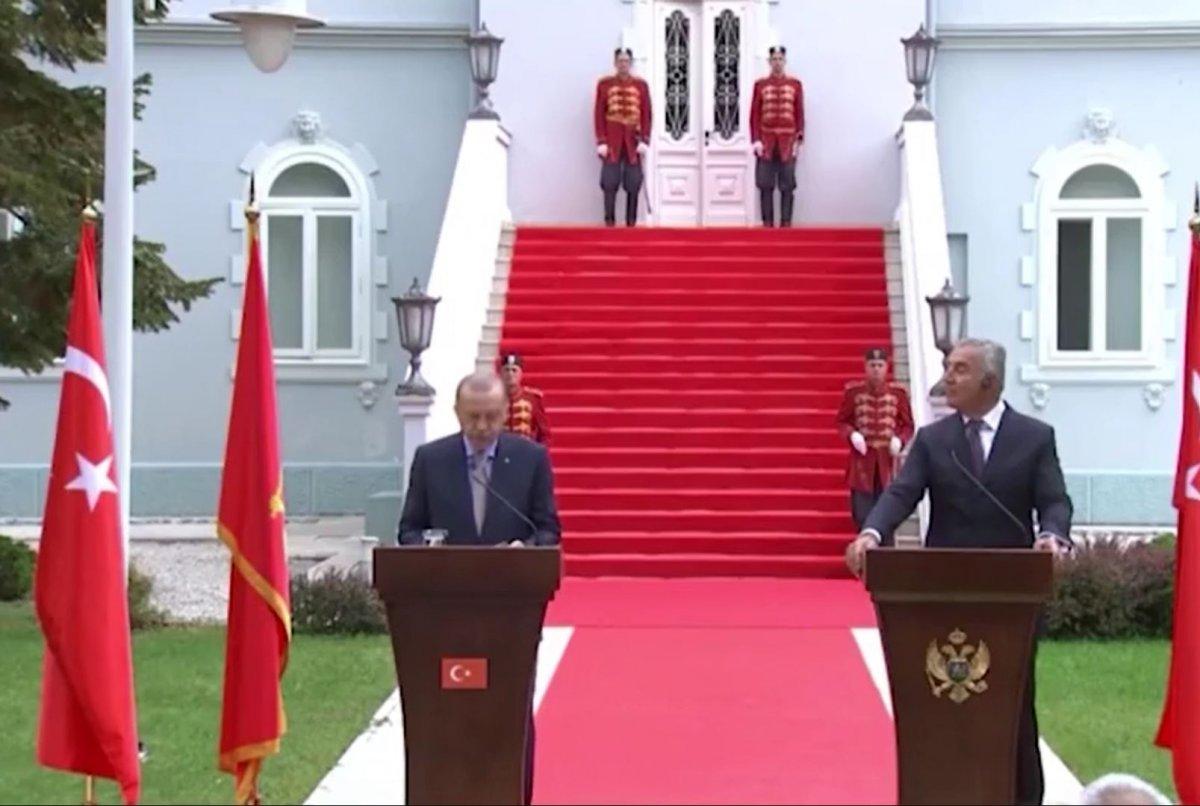 Karadağ da, Cumhurbaşkanı Erdoğan dan 2022 Dünya Kupası mesajı #1