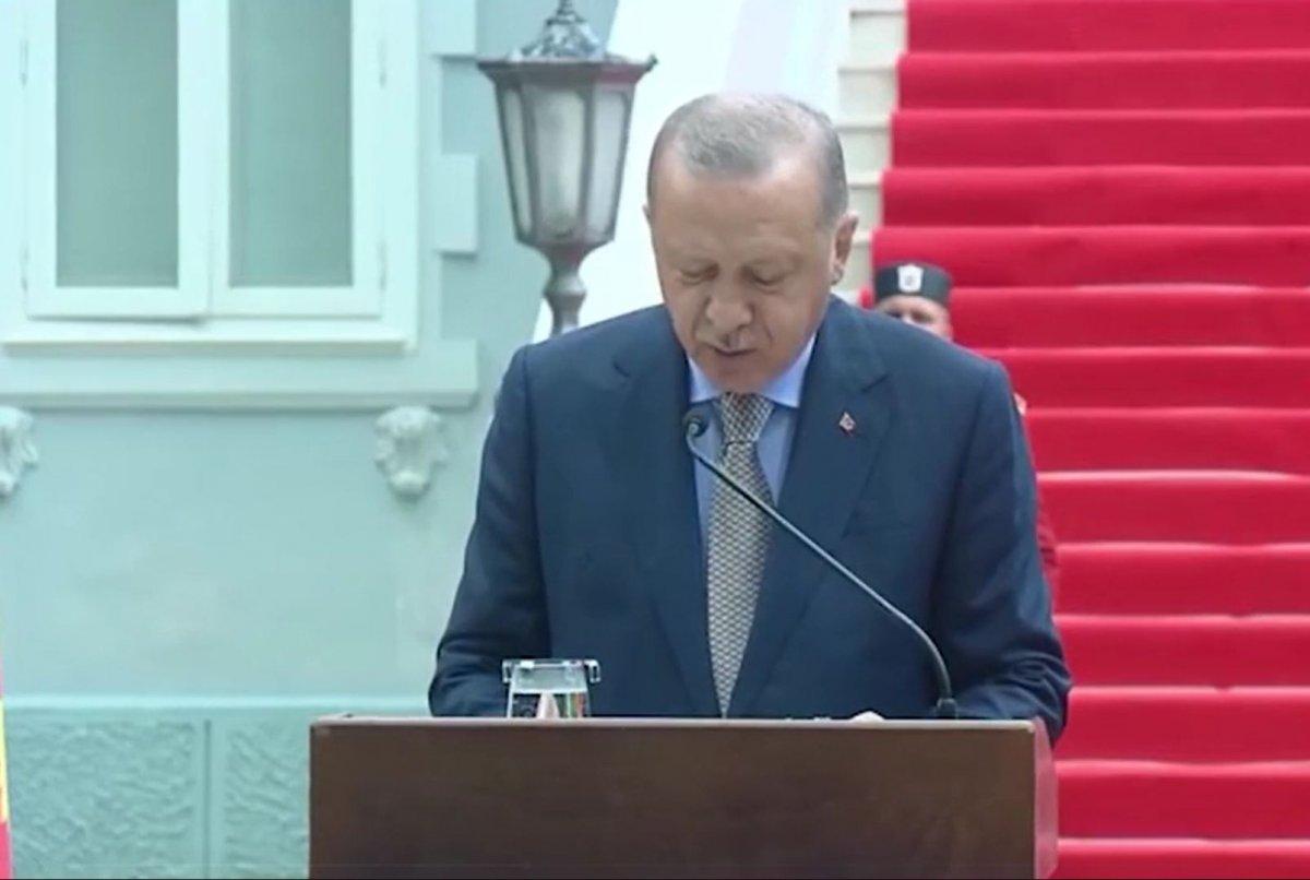 Karadağ da, Cumhurbaşkanı Erdoğan dan 2022 Dünya Kupası mesajı #2