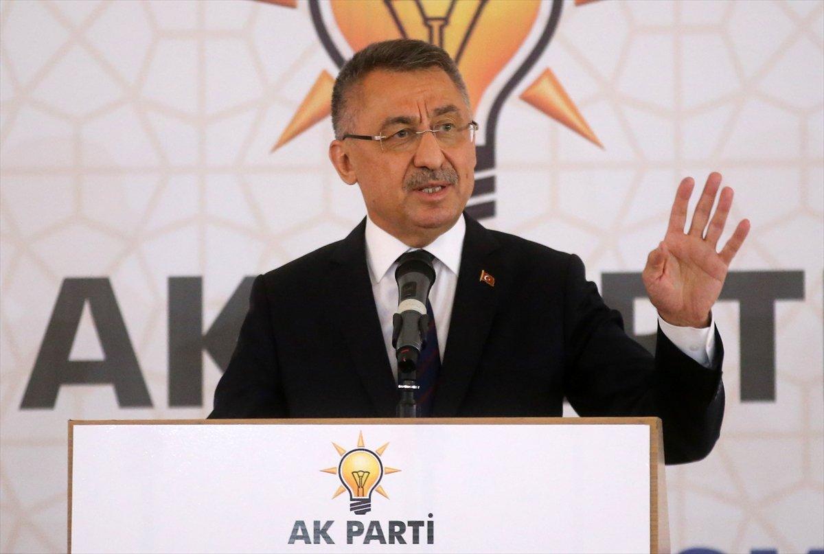 Fuat Oktay: Türkiye terörizm ile daima mücadele etmiştir #1