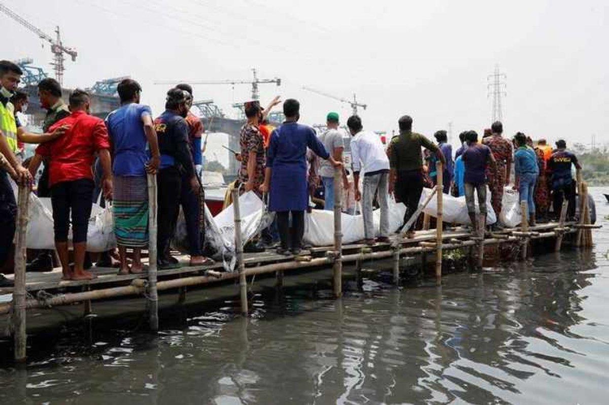 Bangladeş te gemi kazası: 21 ölü #2