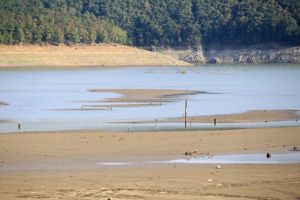 İstanbul a su sağlayan barajların seviyesi yüzde 58,83 e geriledi #8