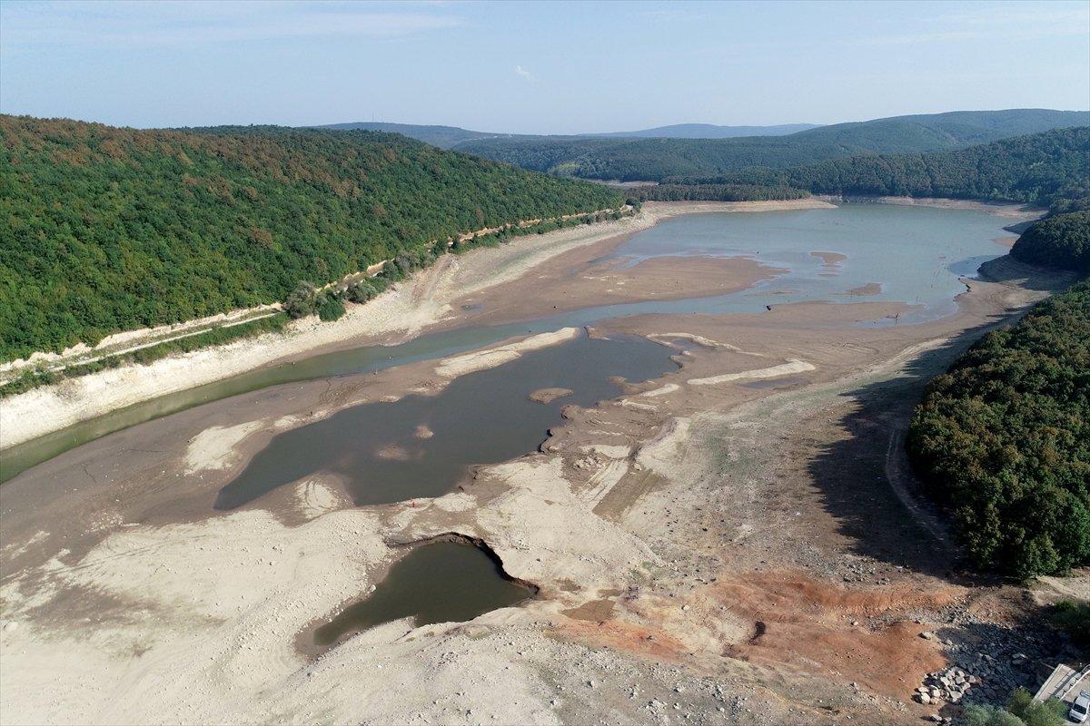 İstanbul a su sağlayan barajların seviyesi yüzde 58,83 e geriledi #5