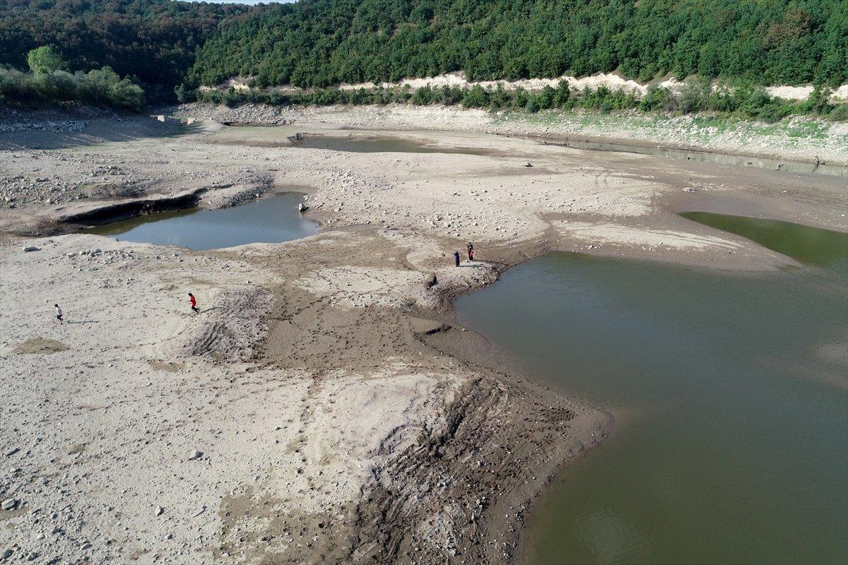 İstanbul a su sağlayan barajların seviyesi yüzde 58,83 e geriledi #15
