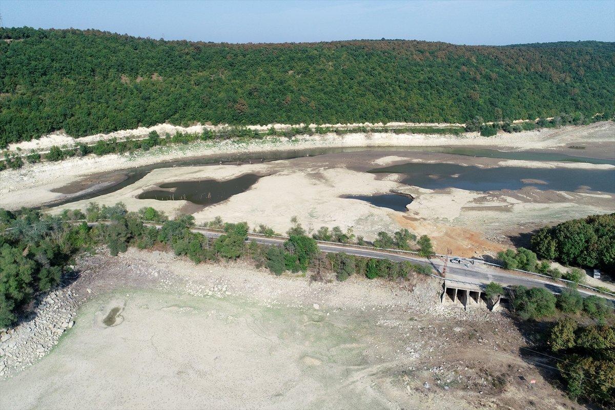 İstanbul a su sağlayan barajların seviyesi yüzde 58,83 e geriledi #18