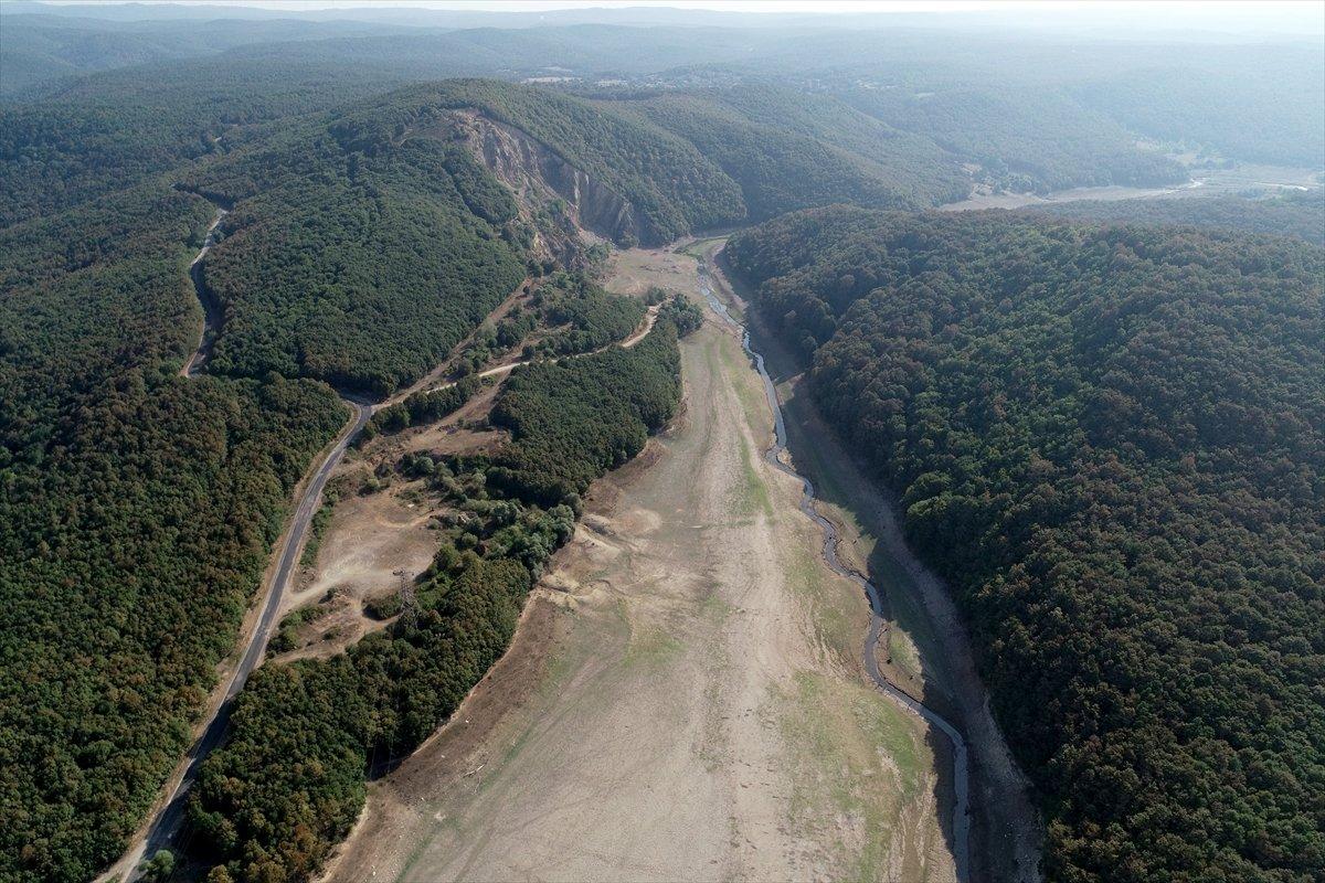 İstanbul a su sağlayan barajların seviyesi yüzde 58,83 e geriledi #14