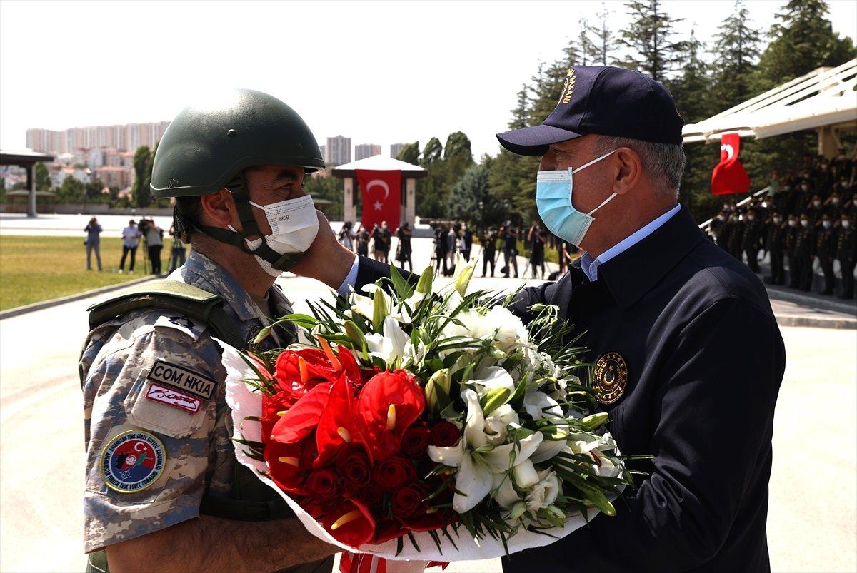 Hulusi Akar: Mehmetçik, Afganistan da görevlerini başarıyla icra etti #2
