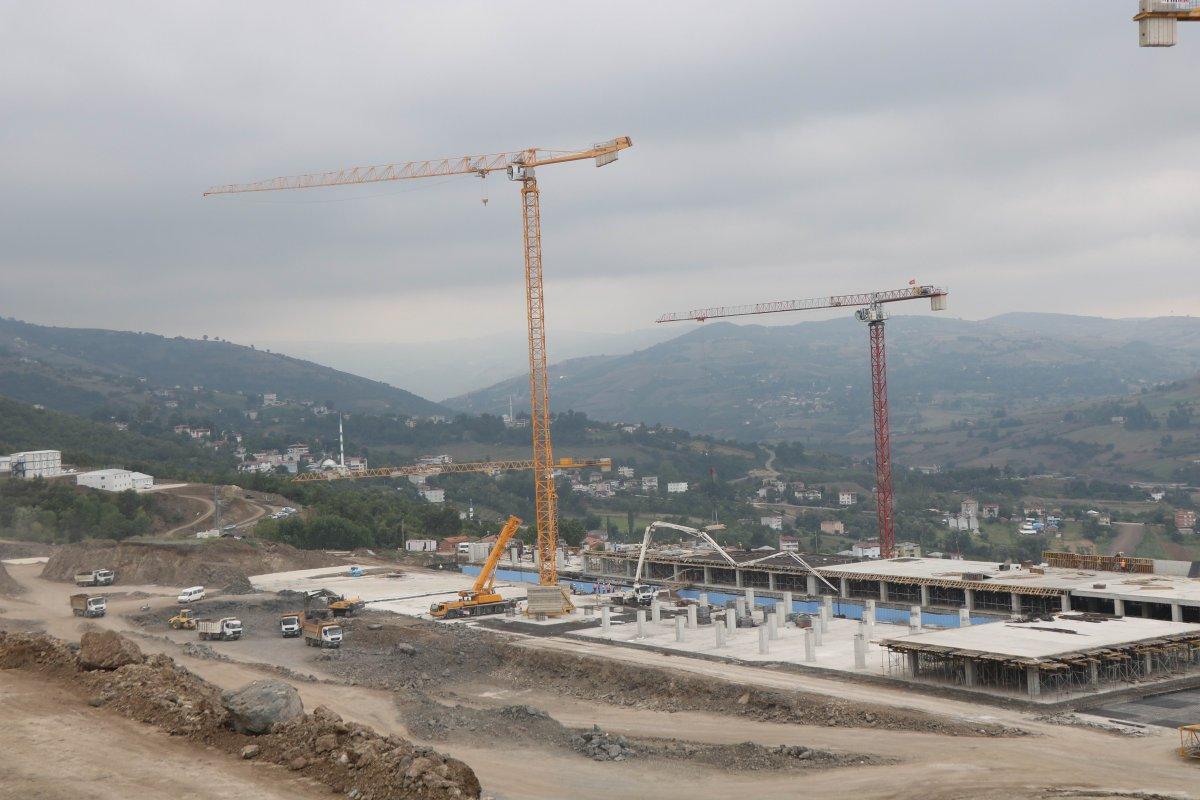 Samsun Şehir Hastanesi, adım adım inşa ediliyor #8