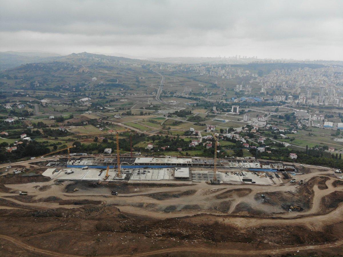 Samsun Şehir Hastanesi, adım adım inşa ediliyor #1