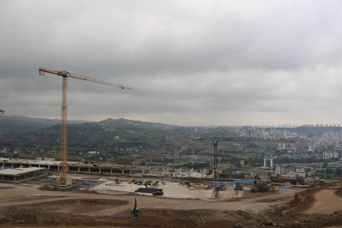 Samsun Şehir Hastanesi, adım adım inşa ediliyor #3