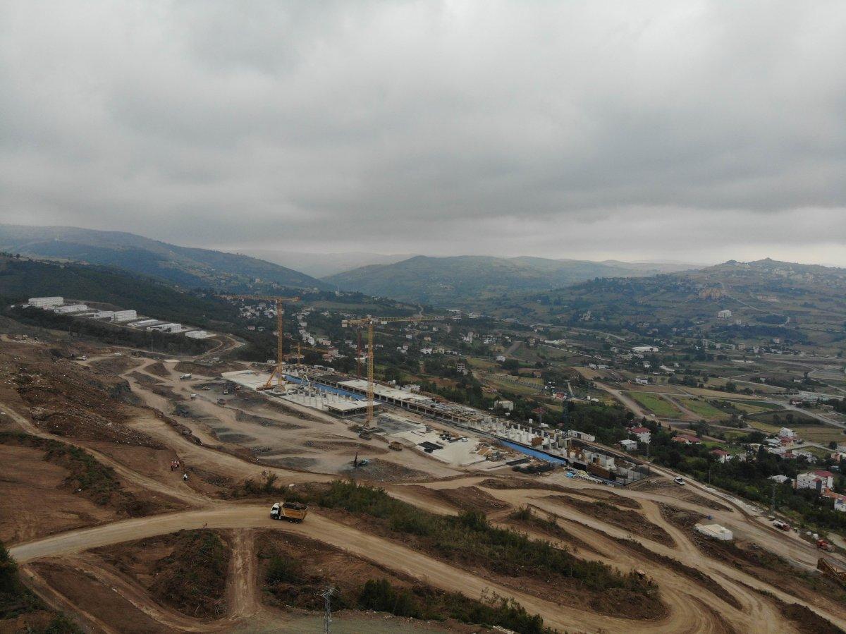 Samsun Şehir Hastanesi, adım adım inşa ediliyor #2