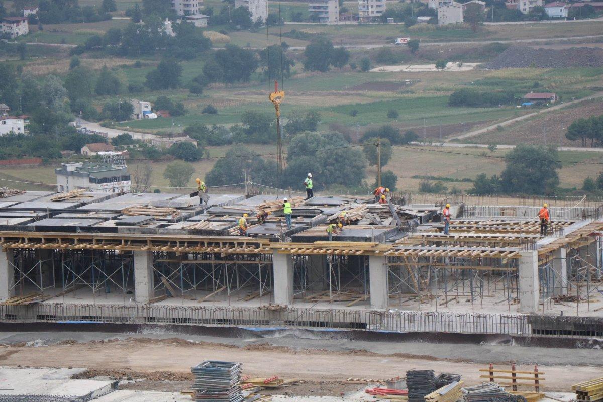 Samsun Şehir Hastanesi, adım adım inşa ediliyor #7