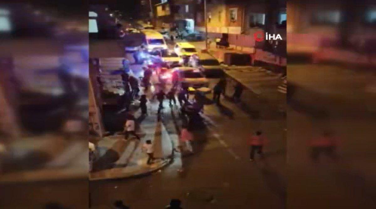 Sultangazi de yüksek sesle eğlence yapan şahıslar polise saldırdı #3