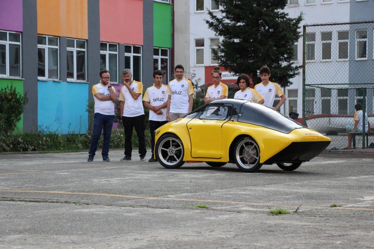 1 TL ile 100 kilometre giden elektrikli araç yaptılar #5