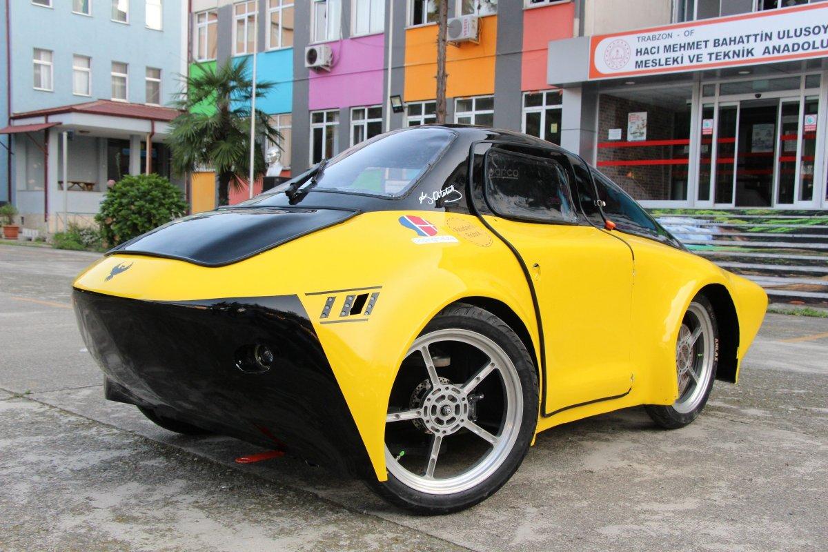 1 TL ile 100 kilometre giden elektrikli araç yaptılar #1
