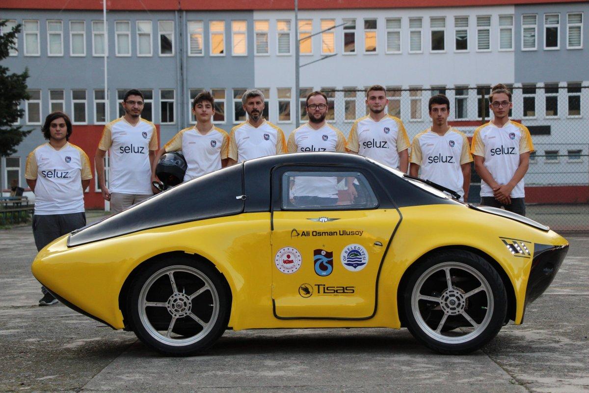 1 TL ile 100 kilometre giden elektrikli araç yaptılar #7