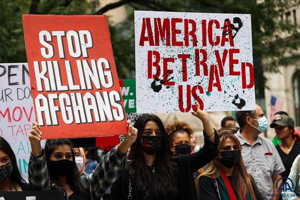 ABD de Taliban protesto edildi #11