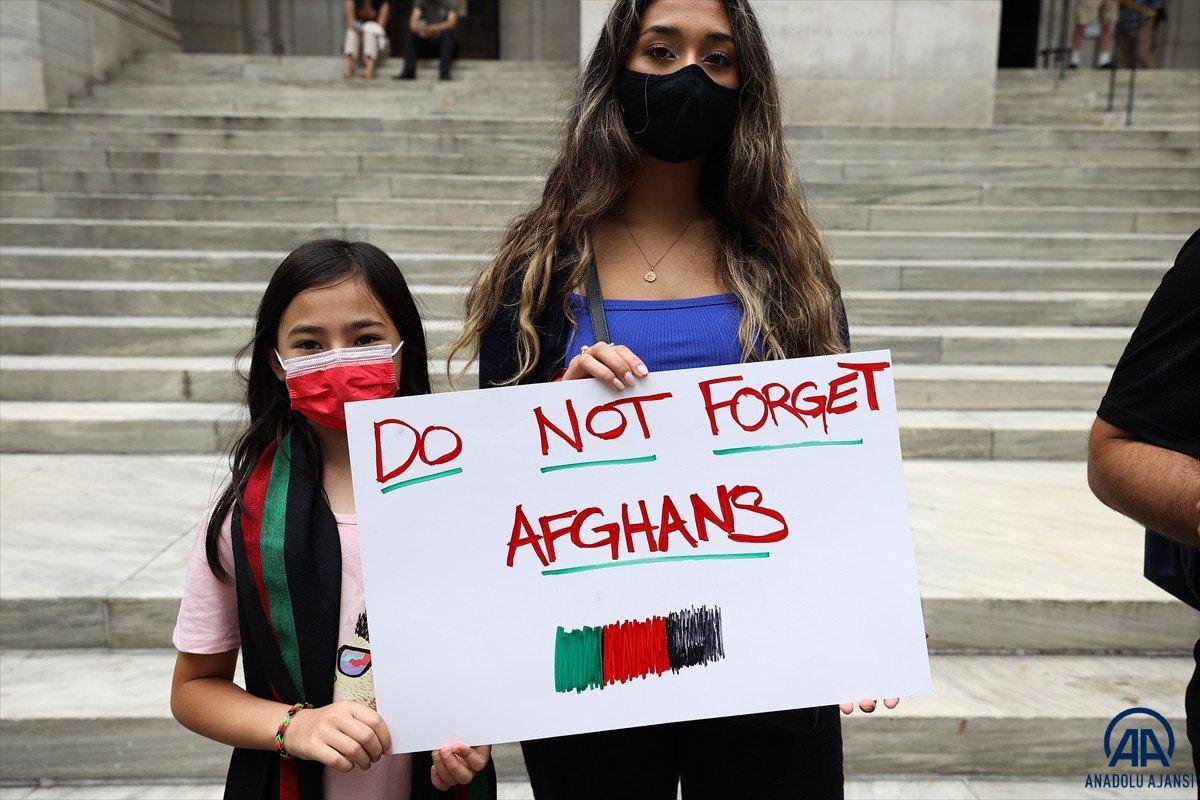 ABD de Taliban protesto edildi #14