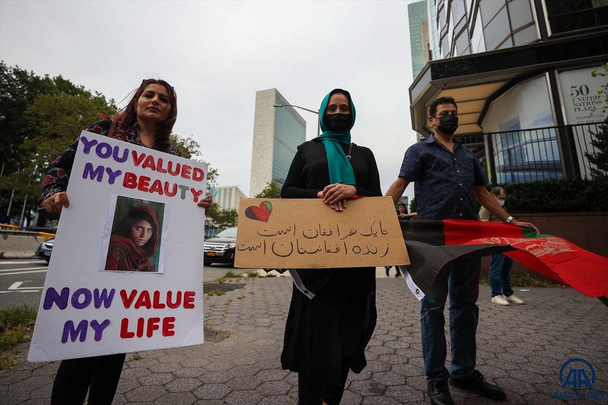 ABD de Taliban protesto edildi #8