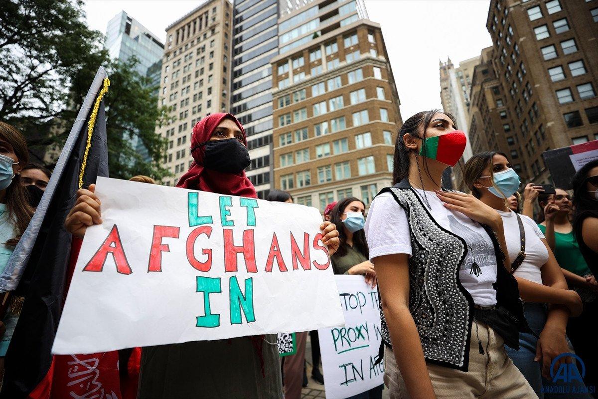 ABD de Taliban protesto edildi #13