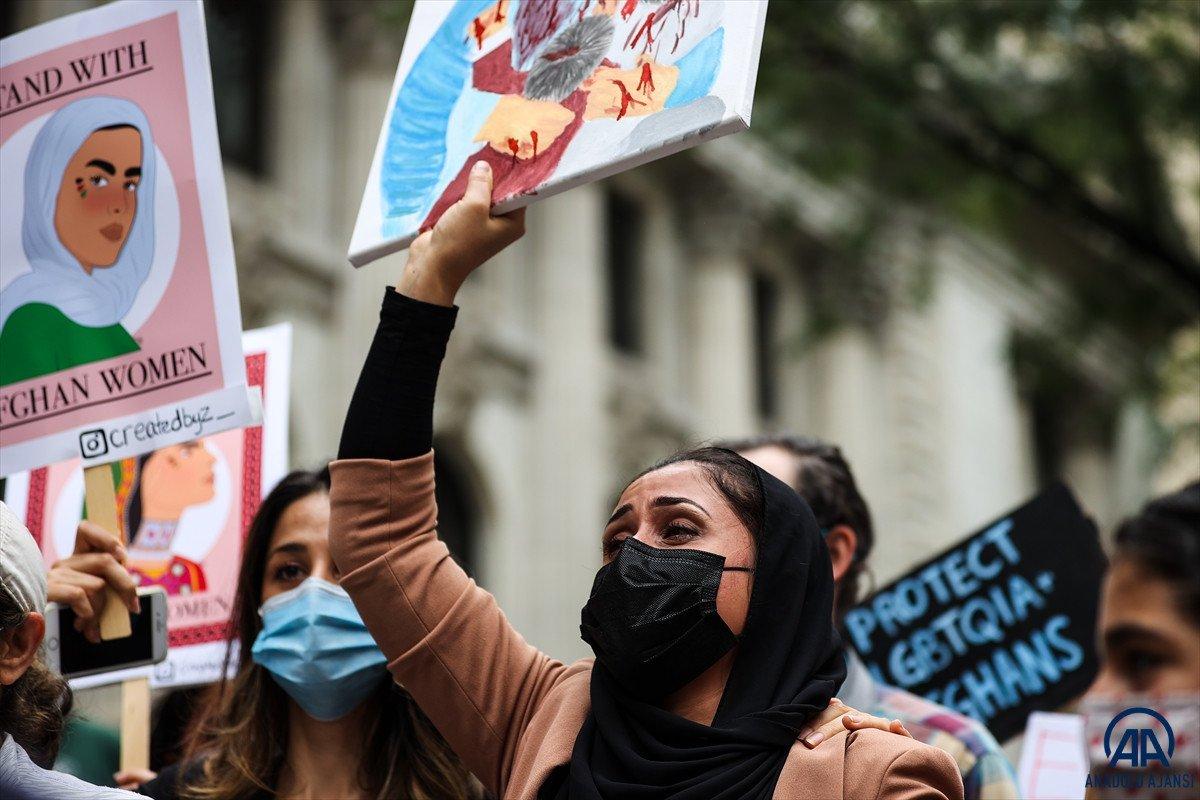 ABD de Taliban protesto edildi #6