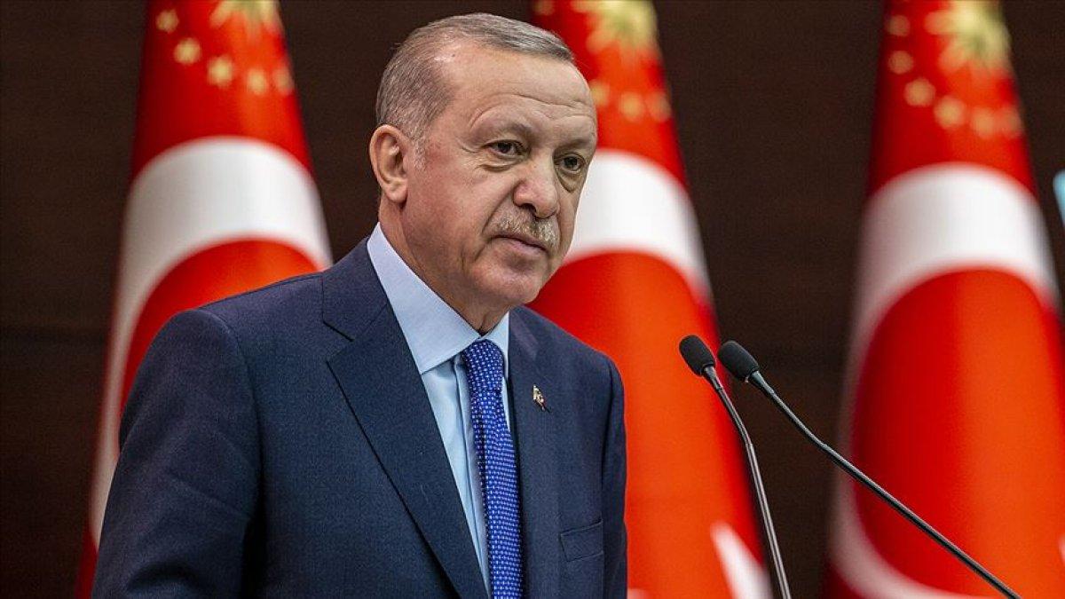 Cumhurbaşkanı Erdoğan dan 30 Ağustos Zafer Bayramı mesajı #1