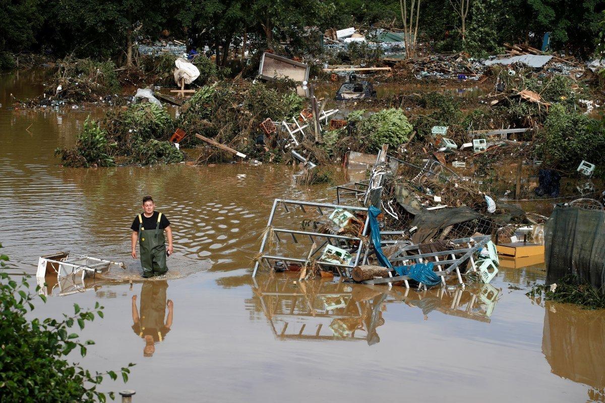 Almanya sel felaketini atlatamadı #7