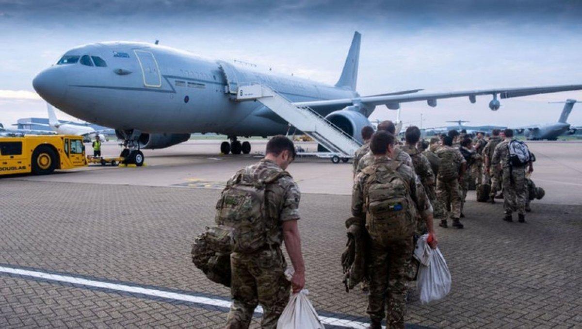 İngiltere Afganistan dan tahliyeleri tamamladı #1