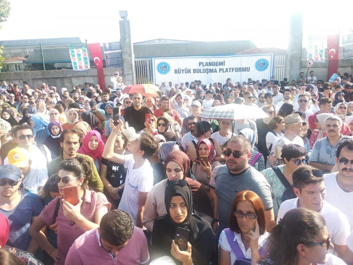 Sancaktepe de aşı karşıtlarından PCR testi zorunluluğuna protesto  #4