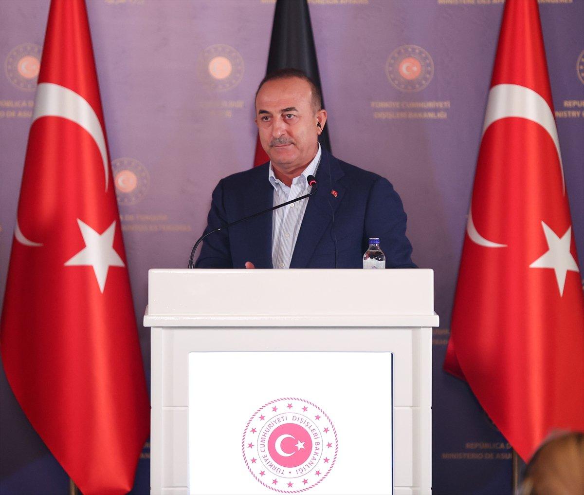 Mevlüt Çavuşoğlu: İlave bir mülteci yükü kaldırmamız söz konusu değil #3