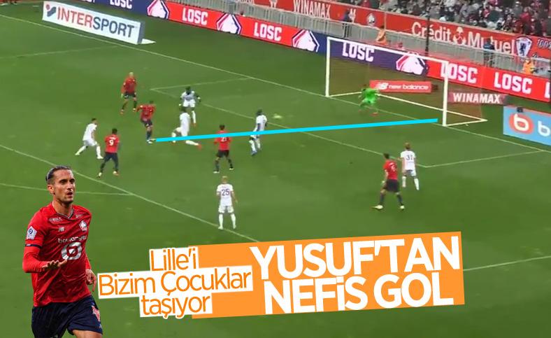 Yusuf Yazıcı ile Lille, ligde ilk galibiyetini aldı