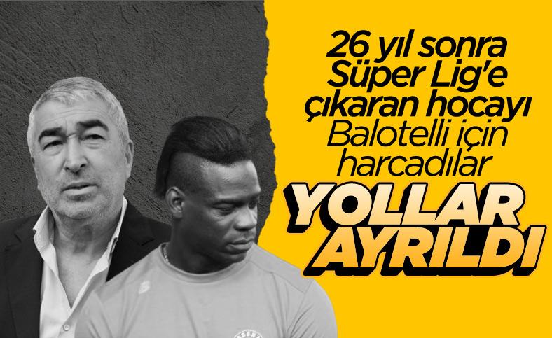 Adana Demirspor'da Samet Aybaba dönemi sona erdi