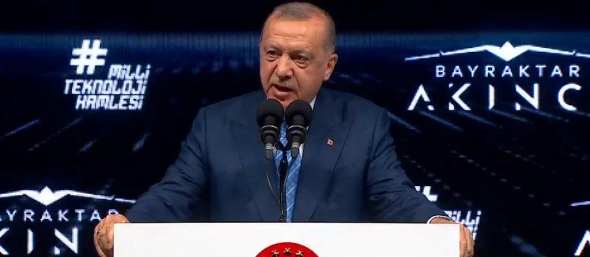 Cumhurbaşkanı Erdoğan, Akıncı TİHA töreninde  #1