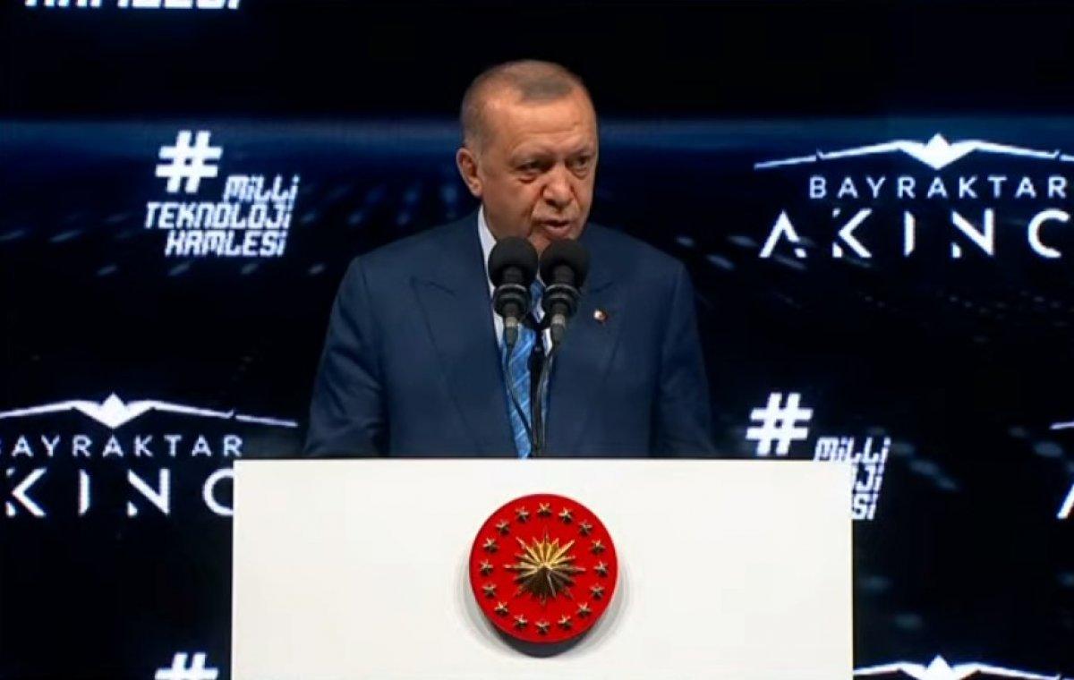 Cumhurbaşkanı Erdoğan, Akıncı TİHA töreninde  #2