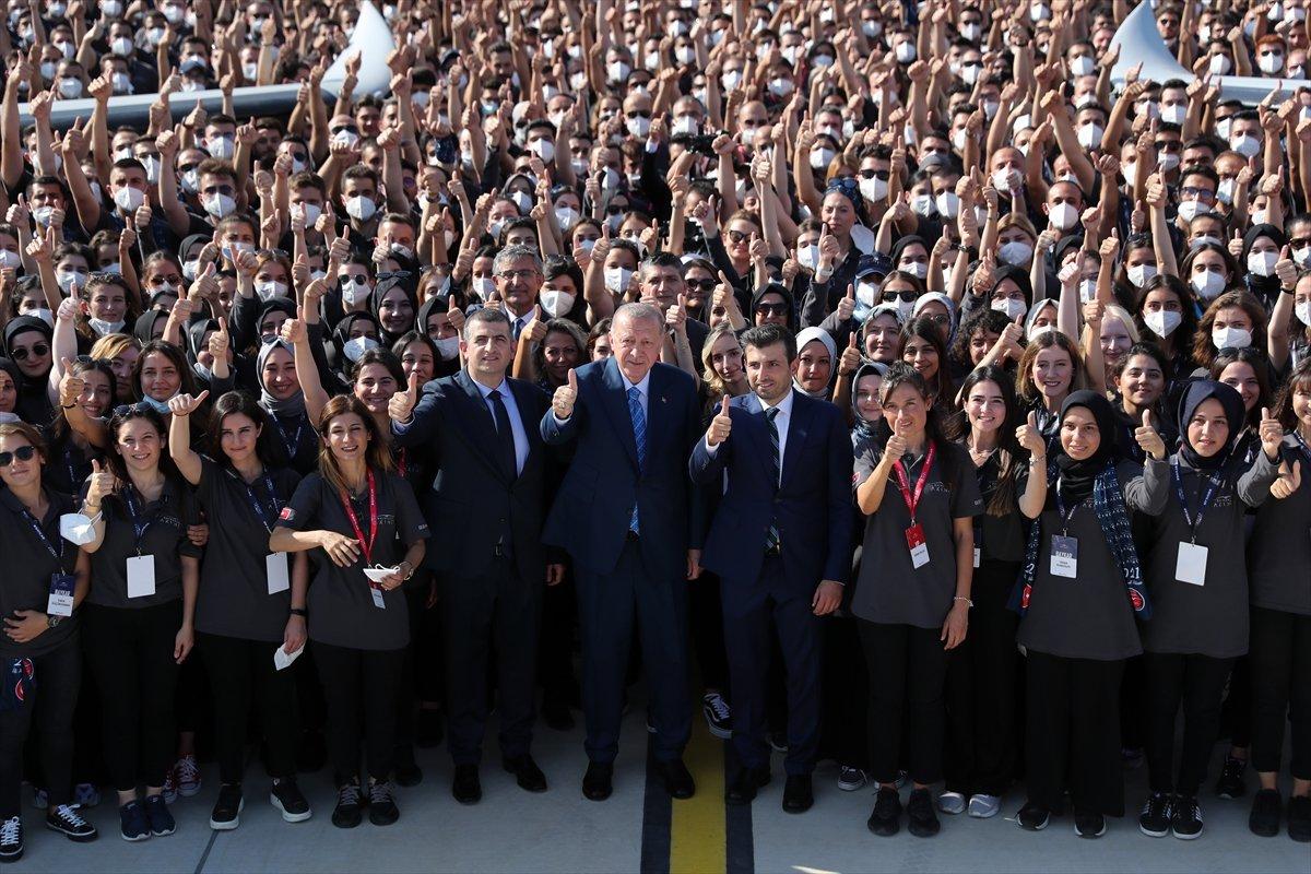 Cumhurbaşkanı Erdoğan, Bayraktar Akıncı TİHA'yı imzaladı #5
