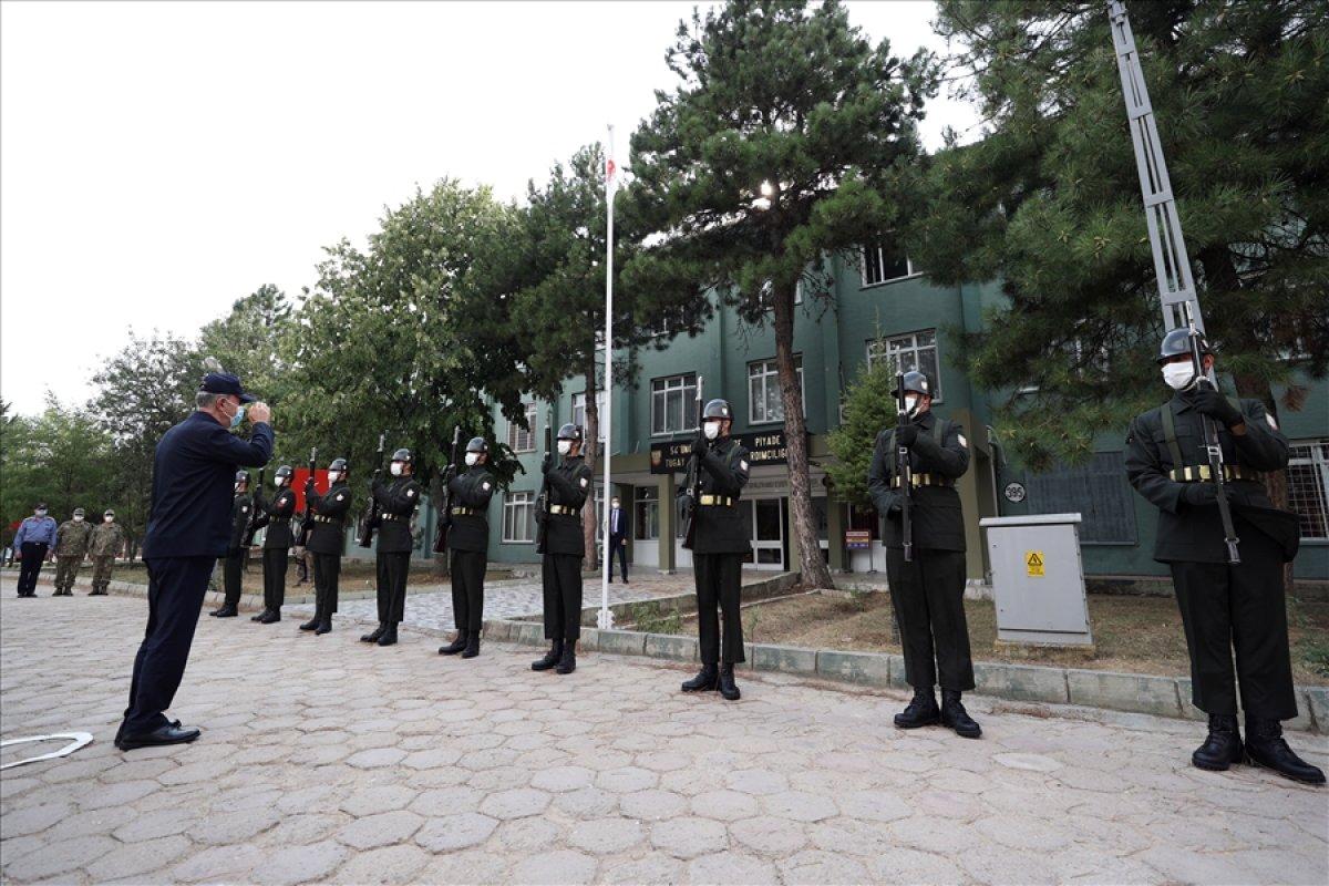 Hulusi Akar, TSK komuta kademesi ile birlikte Yunanistan sınırında #2