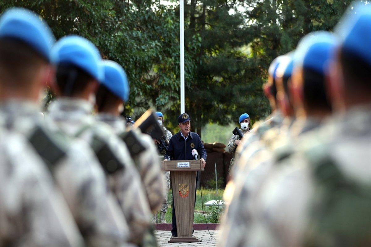 Hulusi Akar, TSK komuta kademesi ile birlikte Yunanistan sınırında #7